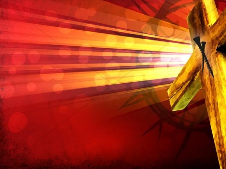 Glorious Cross Worship Background