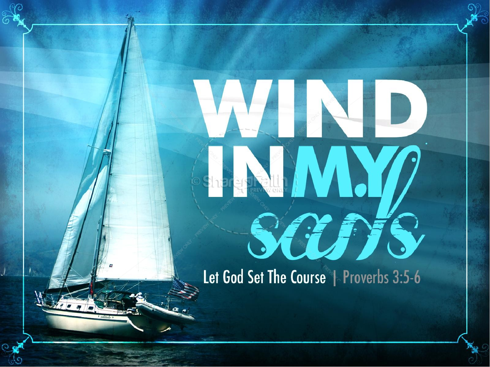 Wind In My Sails PowerPoint | slide 1