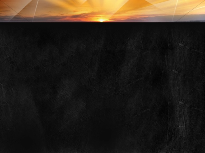 Sunset Worship Background