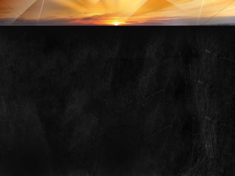 Sunset Worship Background