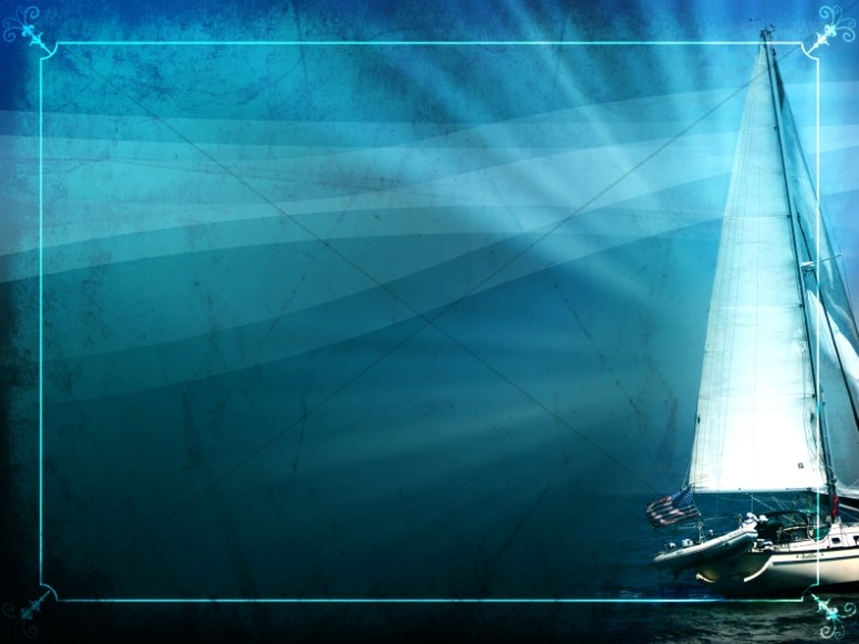 Sailboat Worship Background