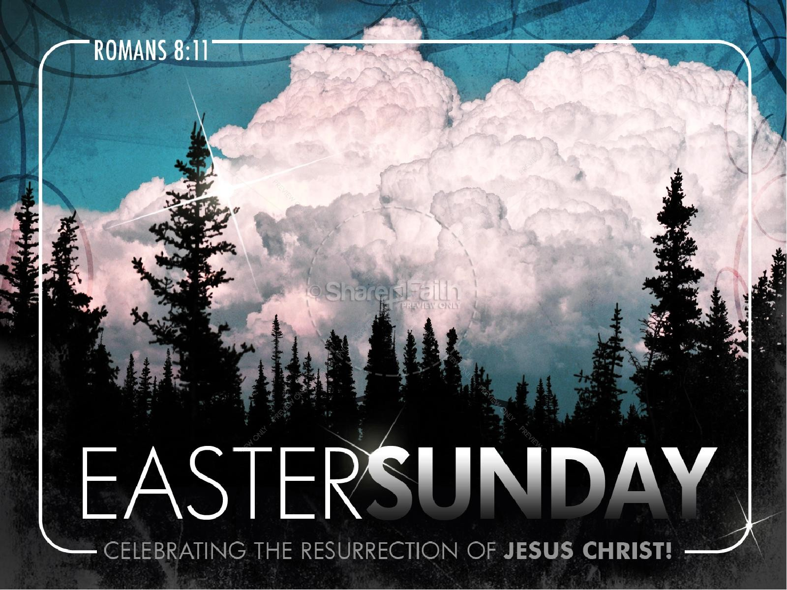 Easter Sunday PowerPoint Sermon | slide 1