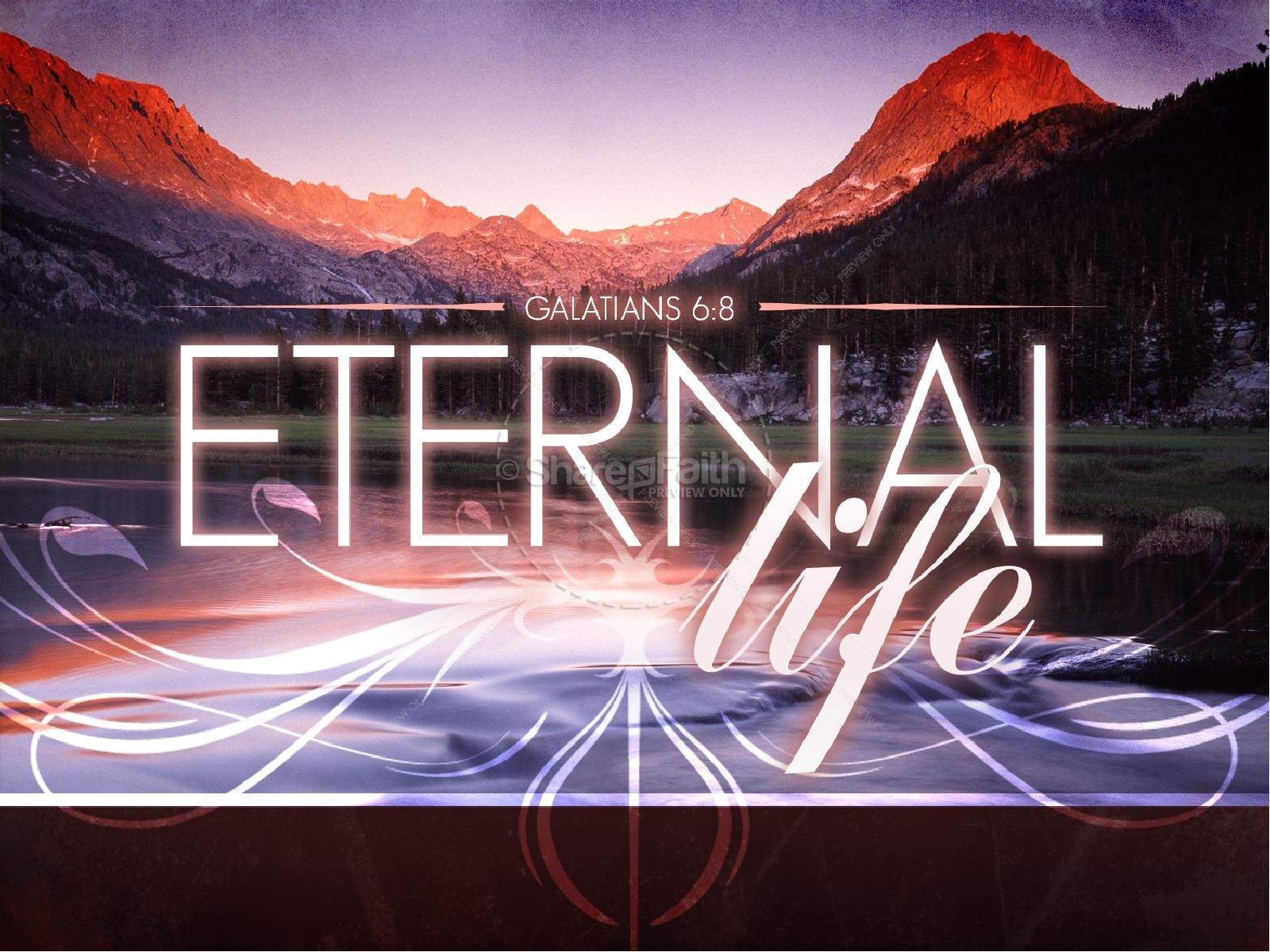 Eternal Life Powerpoint Powerpoint Sermons