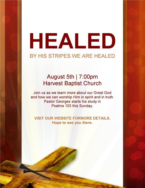 Healed Flyer