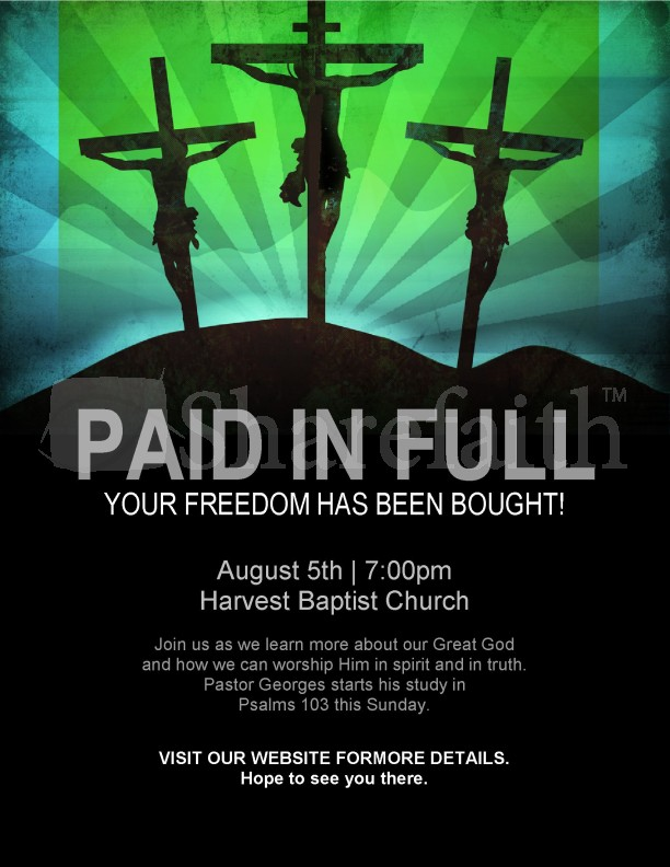 Paid In Full Flyer | page 1
