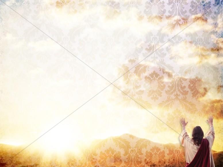 Coming King Worship Background