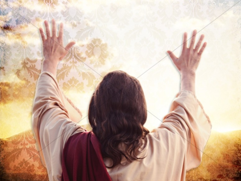 Christ the King Worship Background