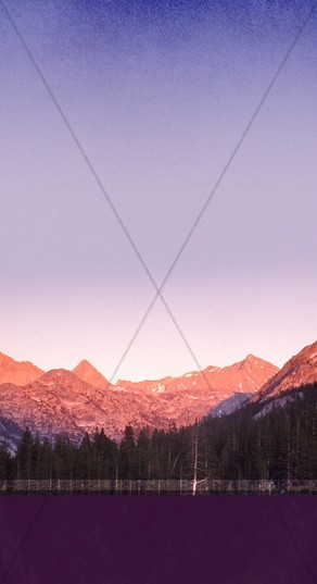 Mountains Website Sidebar