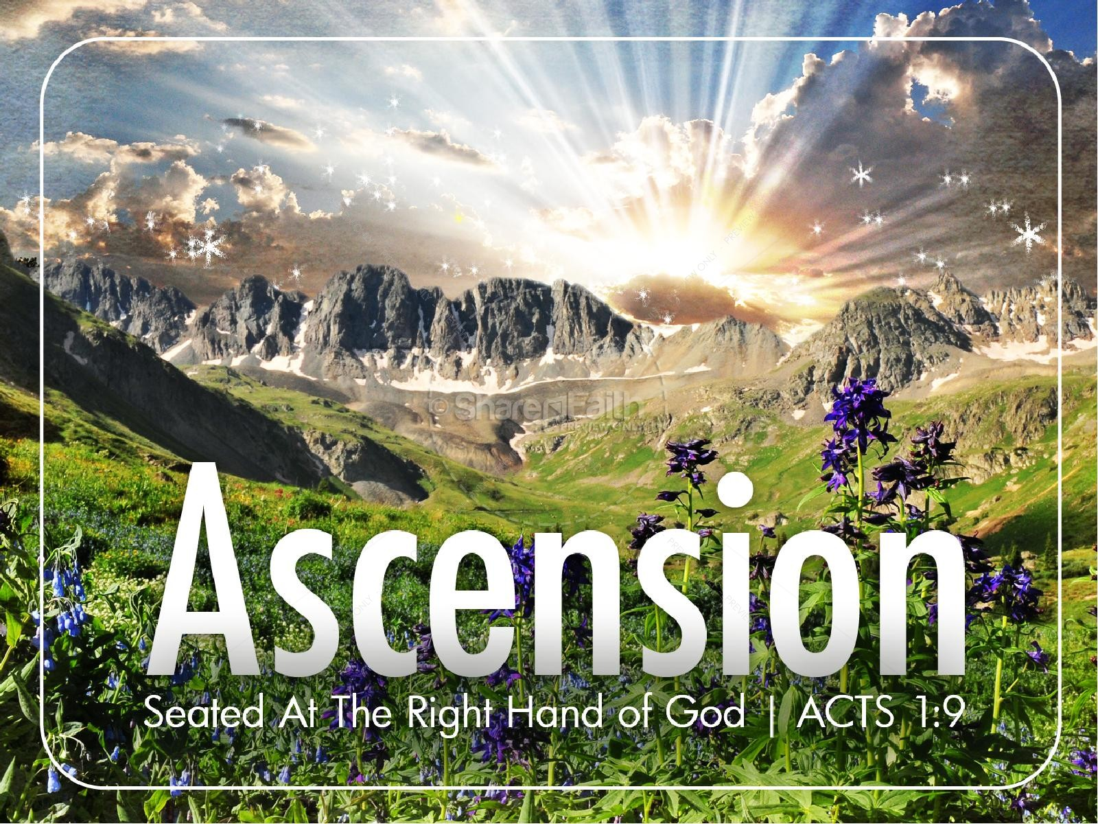 Ascension PowerPoint Sermon Template