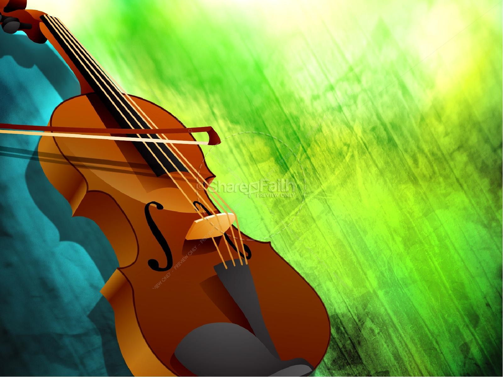 Violin Worship PowerPoint