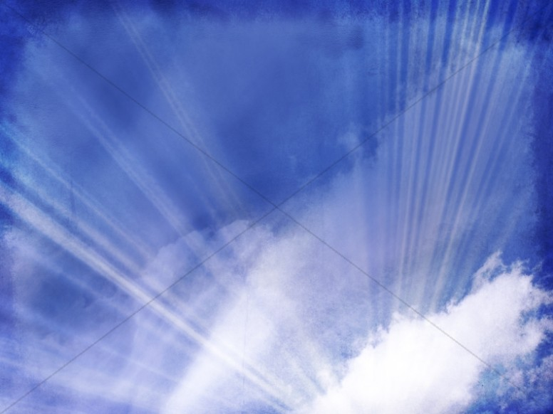 Blue Sky Worship Background