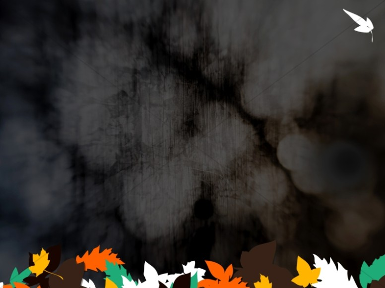 Dark and Leaves Worship Background