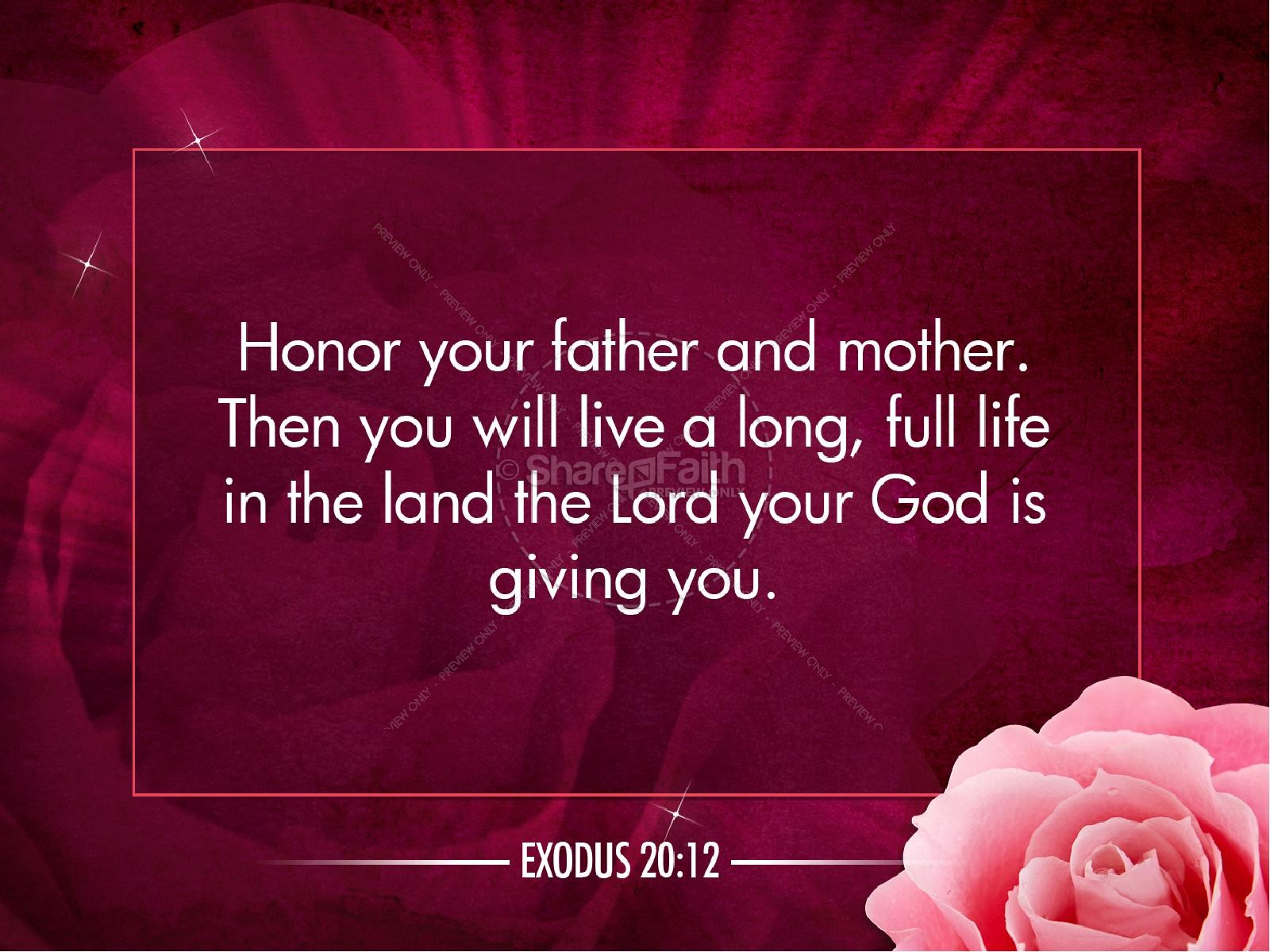 Honoring Mother S Powerpoint Sermon Template Mothers Day