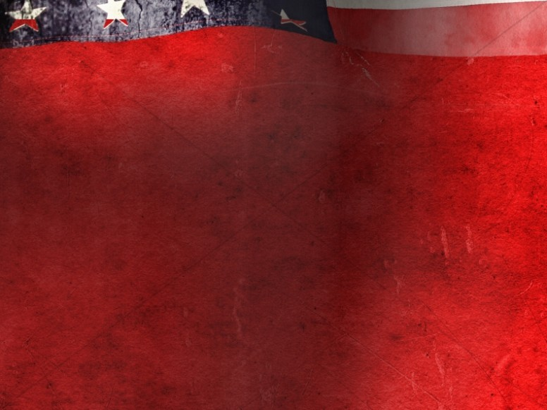 Memorial Day Background Template