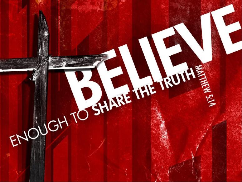 Believe PowerPoint Sermon