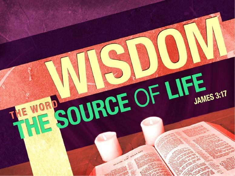 Wisdom PowerPoint Sermon