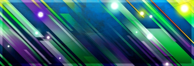 Colorful Stripes Website Sidebar