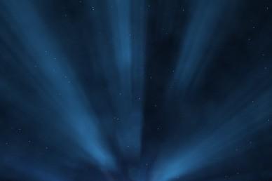 Blue Light Worship Video Background