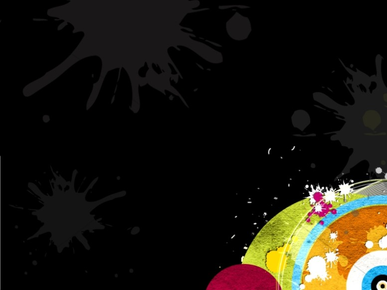 Color Splash Worship Background