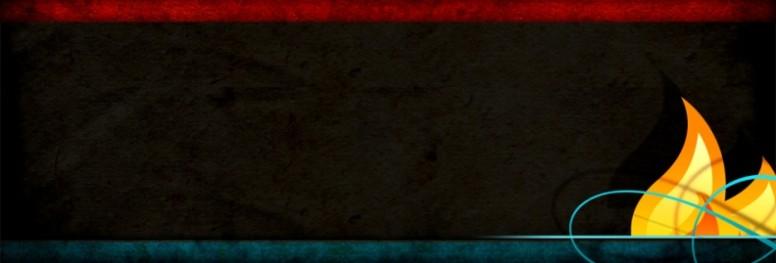 Flame Website Banner Design