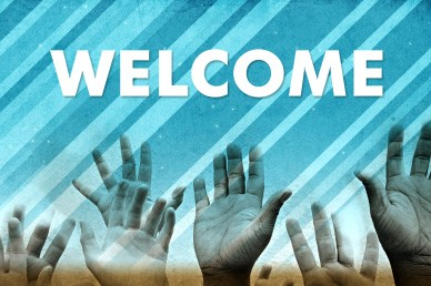 Welcome Hands Video Loop