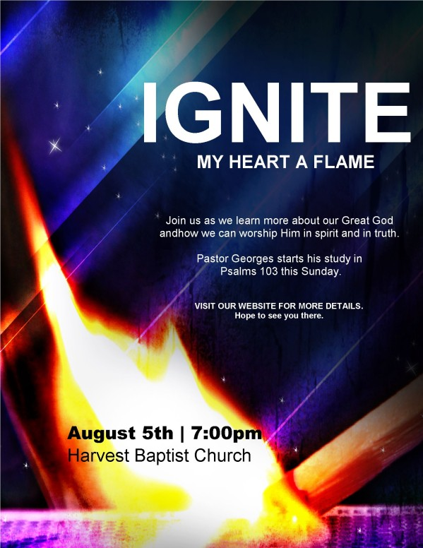 Ignite Church Flyer