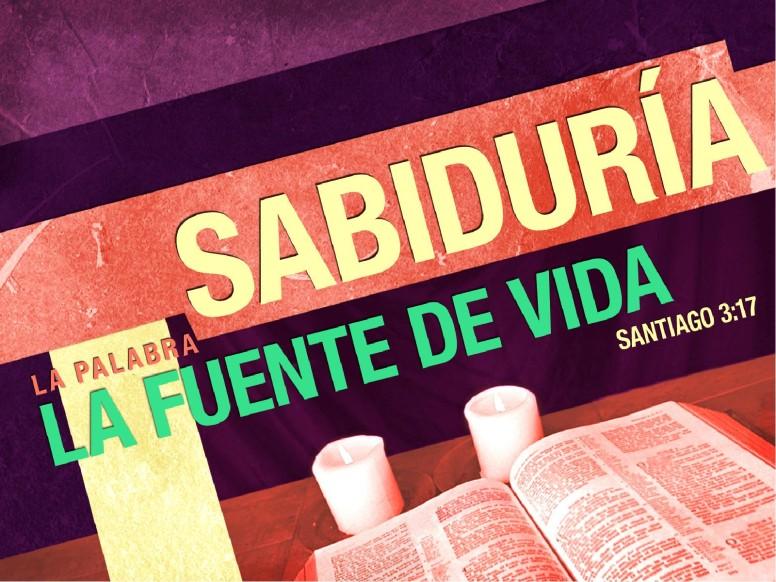 Sabiduria PowerPoint Sermon