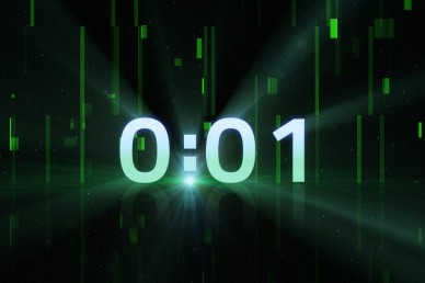 Green Countdown Video