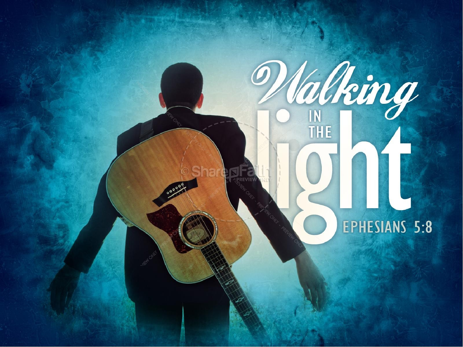 Walking in the Light PowerPoint Sermon