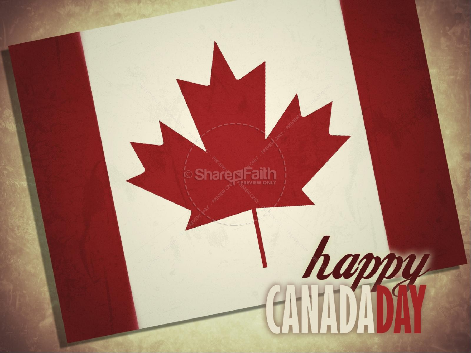 Canada Day PowerPoint Presentation | slide 1