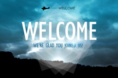 Airplane Welcome Video