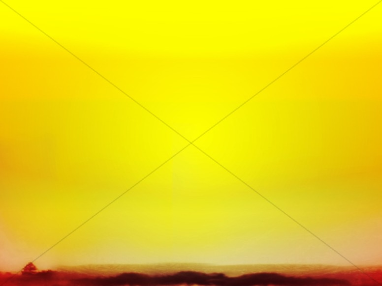 Yellow Sunset Worship Background