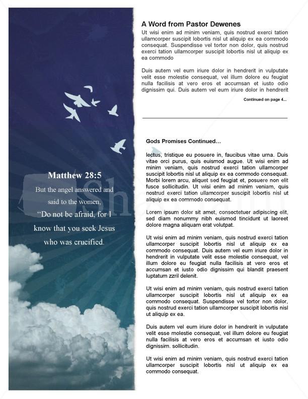 Promises of God Church Newsletter