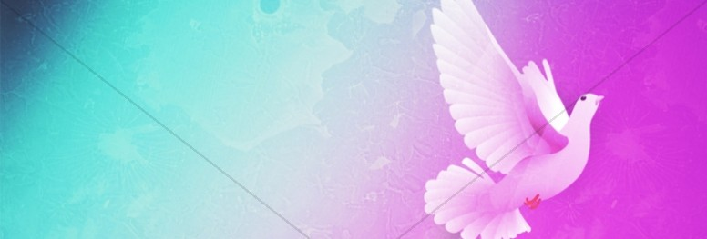 Holy Spirit Dove Website Banner