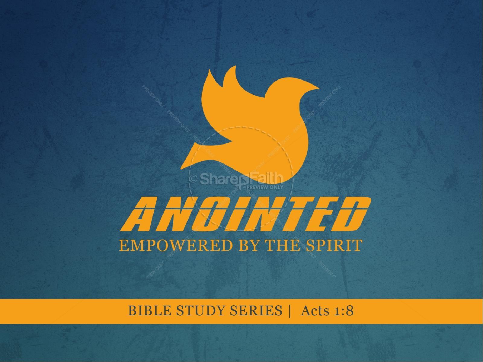 Anointed PowerPoint Sermon   slide 1