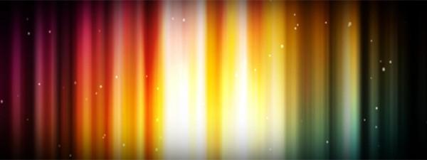 Space Lights Triple Wide Video