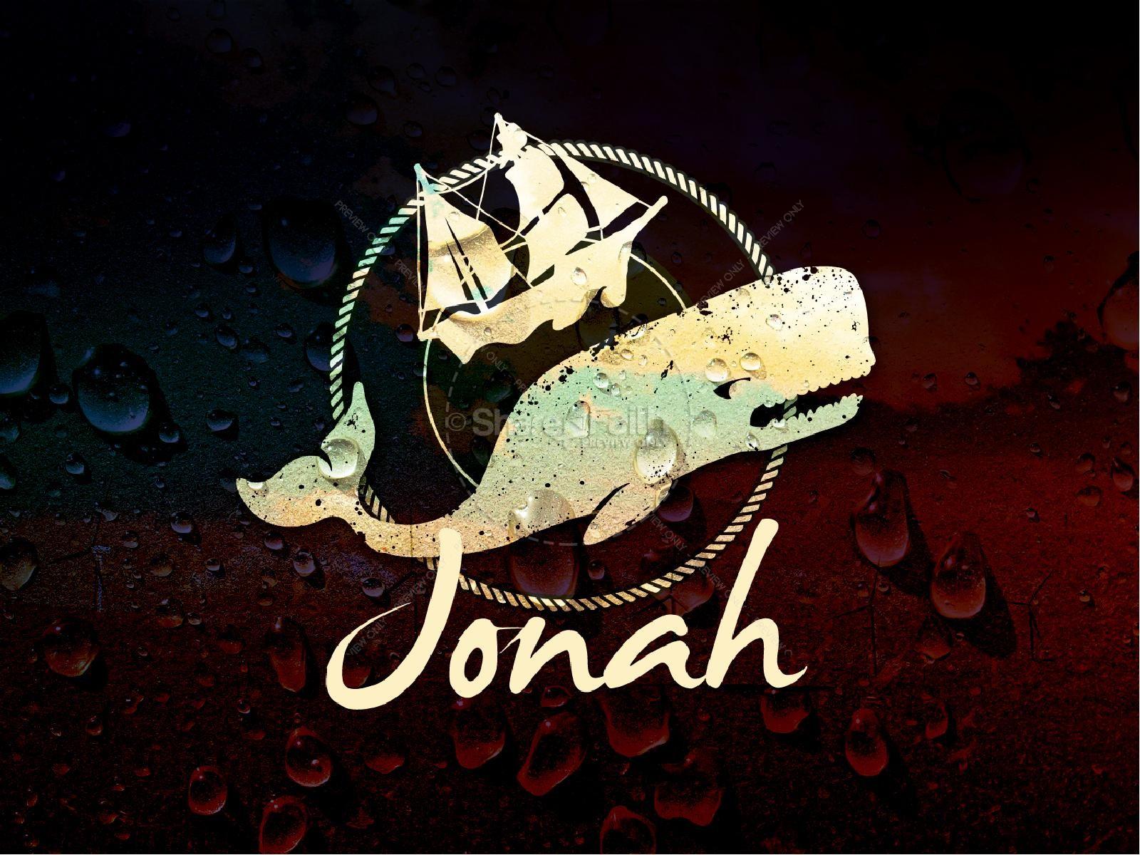 Jonah PowerPoint Sermon PowerPoint