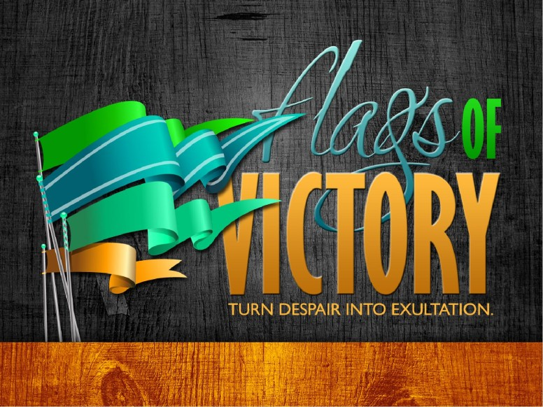 Flags of Victory PowerPoint Template