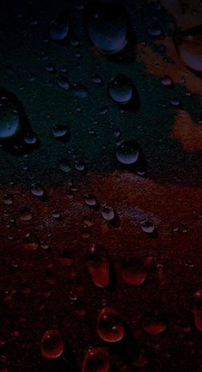 Water Drops Website Sidebar