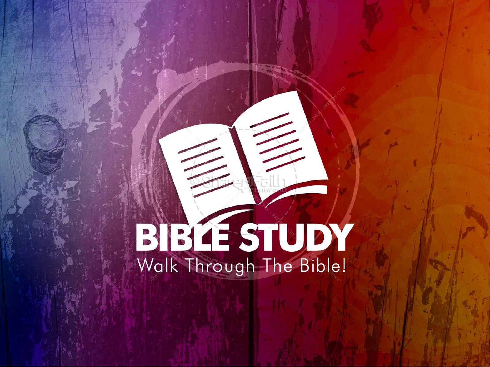 Bible Study PowerPoint Template