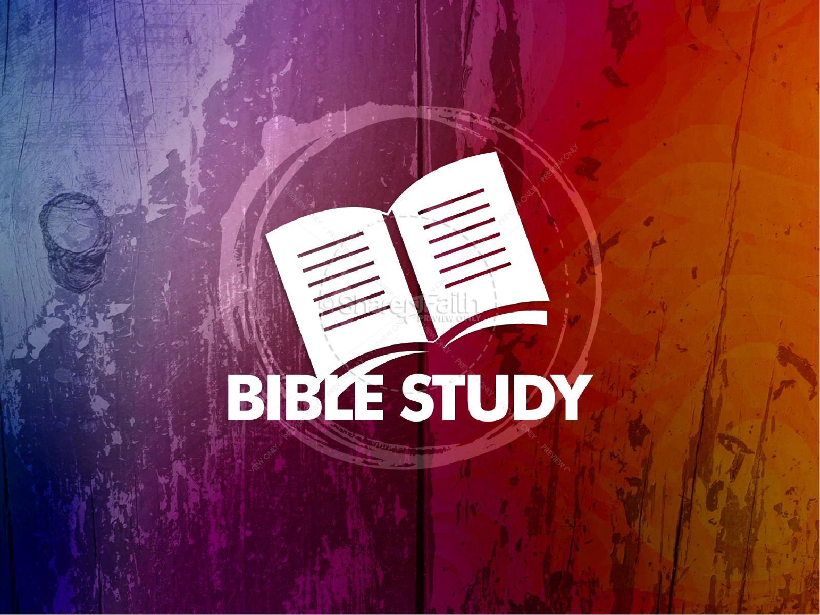 PowerPoint Sermons - Simple Bible Studies
