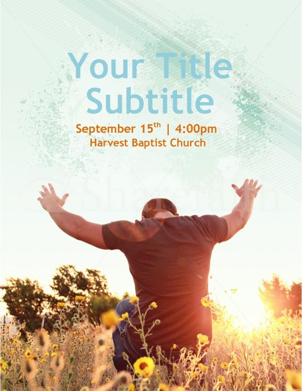 Worship Flyer Church Template