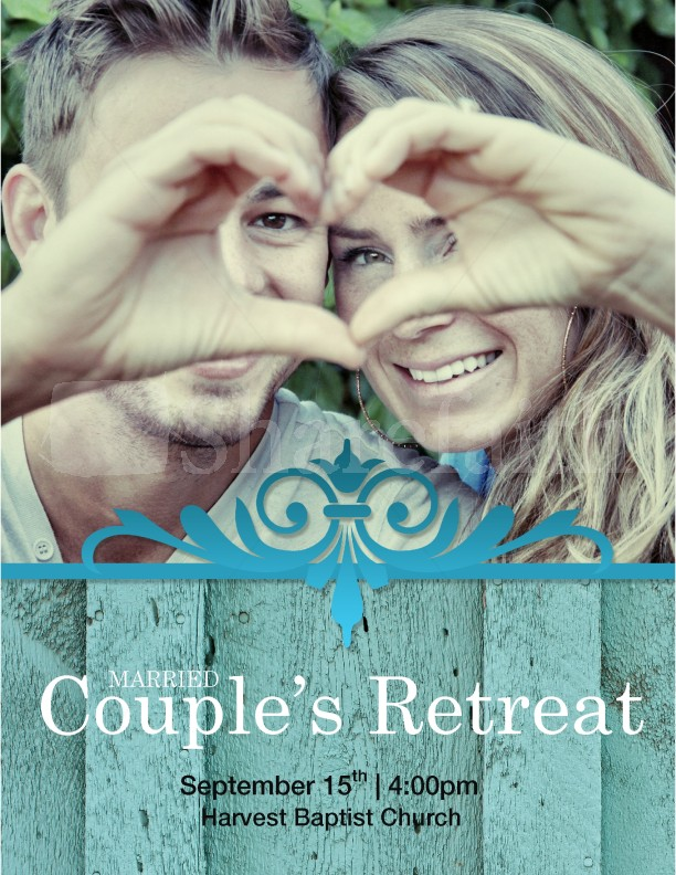 married couples retreat flyer template template flyer templates