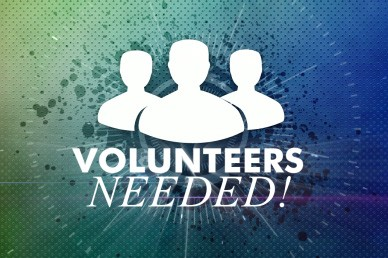 Volunteers Needed Church Video