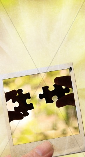 Puzzle Pieces Website Sidebar