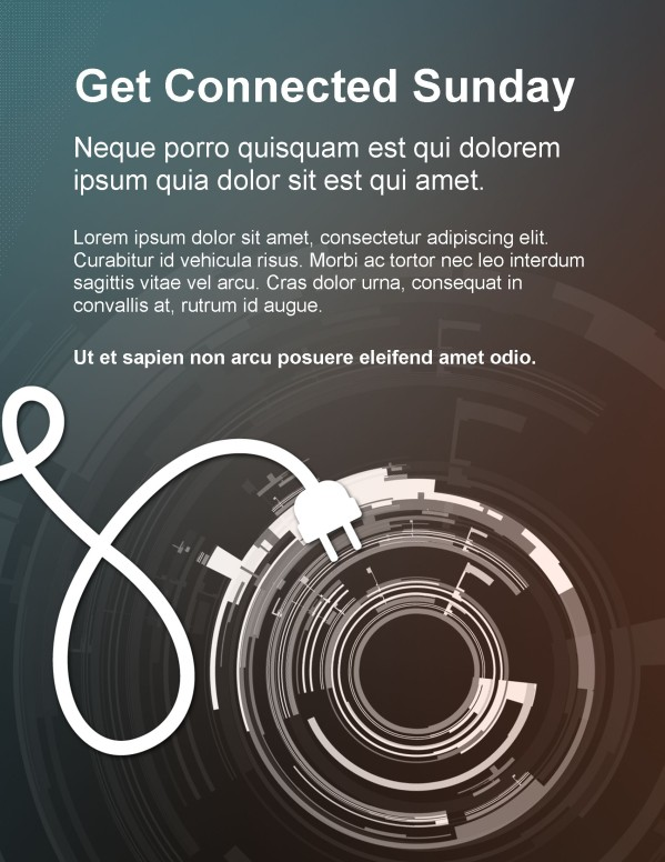 Get Connected Flyer
