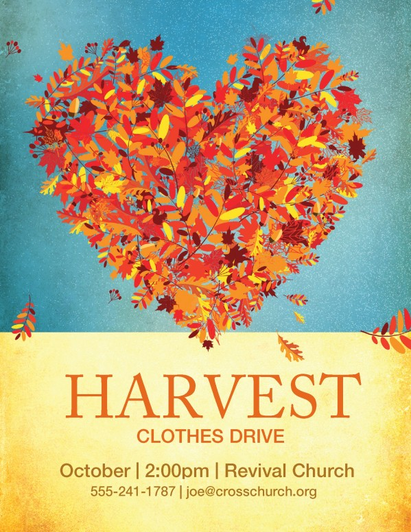 Harvest Clothes Drive