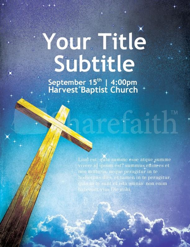 Evangelism Flyer Template Templates