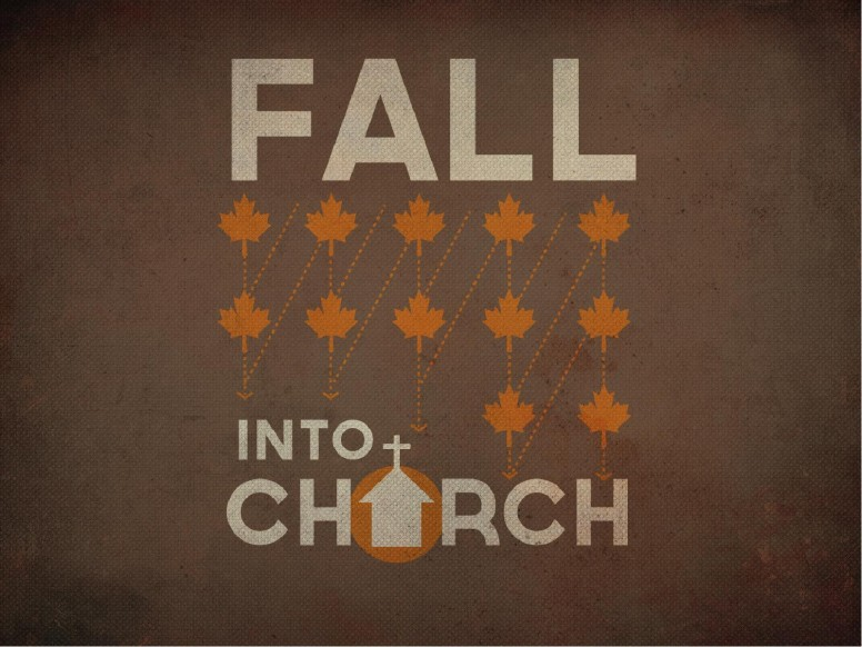 Fall Into Church PowerPoint Design