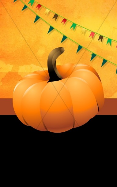 Pumpkin Church Bulletin Design